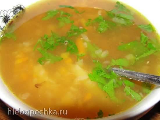 Гороховый суп из зеленого колотого гороха (мультиварка Steba DD1 ECO)