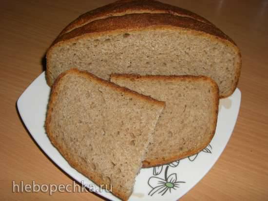 Простой хлеб на каждый день на МК закваске (духовка)