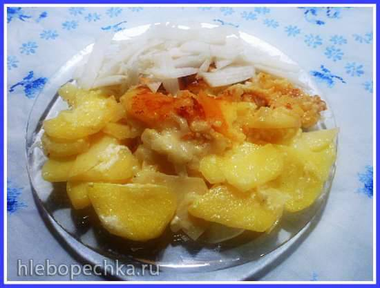 Flamische kartoffeln - картофель по-фламандски в пиве