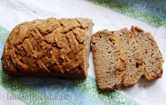 Ржано-пшеничный хлеб с пророщенной пшеницей